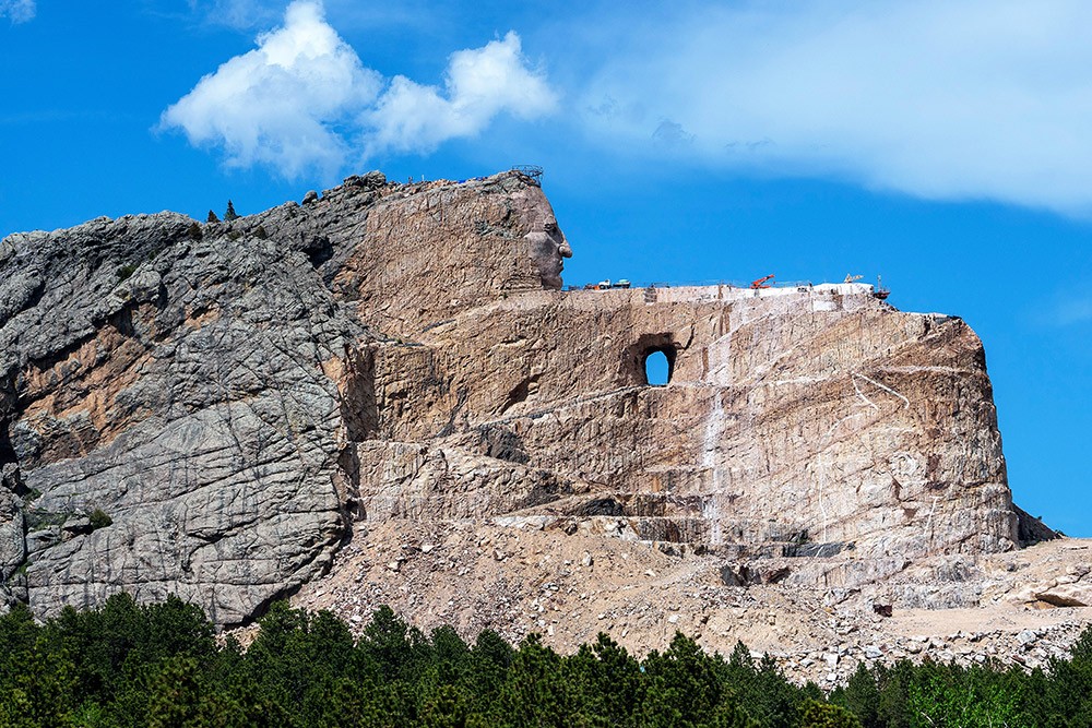 Positive Vibes: South Dakota And The World's Most Colossal Monument…Meet Crazy Horse